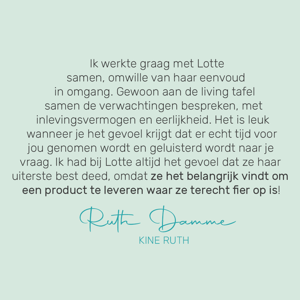 review Ruth Damme